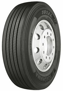 4 New Yokohama 101ZL 295/75R22.5 Load G 14 Ply Front Commercial Tires