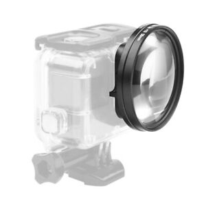 58mm Macro Lens 10x Magnification Close Up Lens for Gopro Hero 7 Black 6 5 X7L8