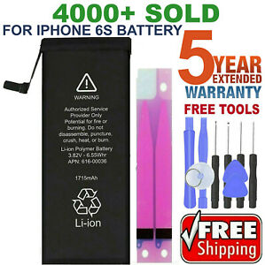 Battery For iPhone 6s internal replacement 1715mAh Free oem Tools amp; tape