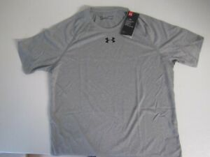 UNDER ARMOUR MEN'S GRAY T-SHIRTS (NWT) LOOSE FIT, HEAT GEAR