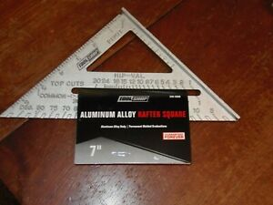 Tool Shop New 7quot; Aluminum Rafter Angle Square TRL PO 15 FREE SHIPPING