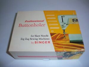 Professional Buttonholer by Singer For Slant Needle Zig Zag Sewing Machines $34.95