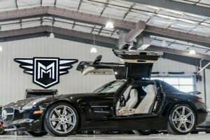 2012 Mercedes-Benz SLS AMG SLS AMG Mercedes-Benz SLS AMG Obsidian Black Metallic with 32216 Miles, for sale!