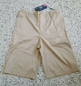 New Under Armour Golf Youth Boys Pockets Khaki Shorts Pants Size: 20 $27.99