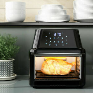 Multi-function 16.9QT Air Fryer Oven Roast Chicken Dehydrator Rotisserie Grill