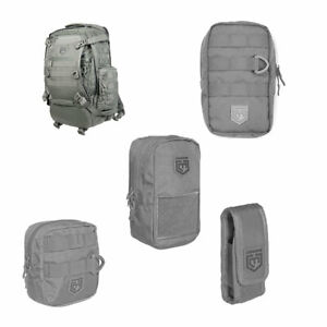 Cannae Pro Gear Phalanx Tactical Full Size Pack with Helmet Carry w Accessories