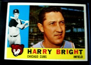 1960 Topps Baseball Set Break  # 277 - Harry Bright   NO CREASES NM-MT OR BETTER