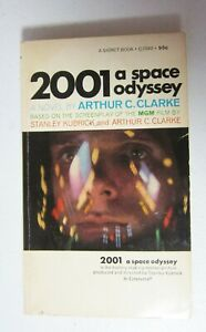 2001: A Space Odyssey by Arthur C. Clarke Signet Paperback 7th Print 1968