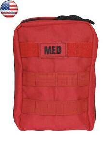 Five Star Gear Tactical Emergency 55 piece First Aid and Trauma Kit. Red #5260