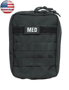 Five Star Gear Tactical Emergency 55 piece First Aid and Trauma Kit. Black #5261