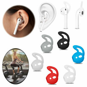 Soft Silicone Ear Hooks Earbuds Holder For Apple AirPods Sports Accessories