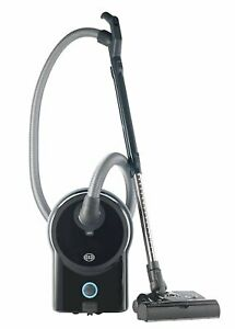 Sebo Airbelt D4 Canister Vacuum Cleaner with ET-1 Powerhead and Bare Floor Brush