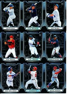 2019 Panini Chronicles - OBSIDIAN BASE CARDS #s 1-60 - U Pick From List