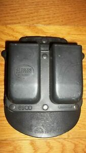Fobus 6900 Double Magazine Holder Paddle Holster, for Glock 17,19,26