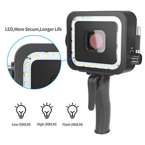 For GoPro Hero 5 6 7 Accessories Diving Flash Light Photography + Diving Housing