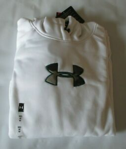 UNDER ARMOUR White Camo Logo Hoodie Women's Size Medium Loose Fit NWT NEW