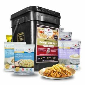 Wise Company Emergency Food Supply Drink and Entree Variety 52 Servings