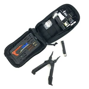 Gerber Center Drive Tool 5.56 mm w Otis Military Weapon Cleaning Kit NO BITS