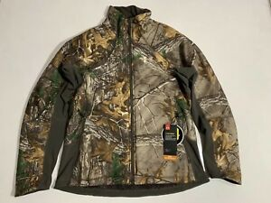 UNDER ARMOUR WOMEN'S MED STORM MID SEASON HUNT FULL ZIP JACKET CAMO NWT