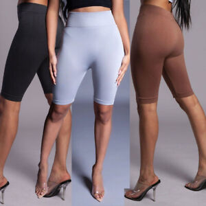 US Compression Women Booty Shorts Yoga Pants Sport Gym Fitness Running Butt Lift