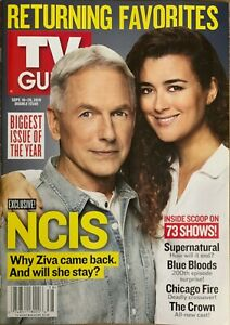 TV Guide Magazine  - SEPT 16-29,   2019  -  EXCLUSIVE NCIS -  NO MAILING LABELS