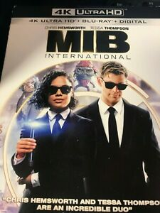 Men in Black: International (4K Ultra HD Blu-ray wSlipcover Digital) 2019