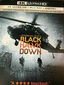 Black Hawk Down (4K Ultra HD + Blu-ray + Digital) New  Sealed NO slipcover