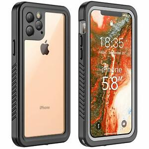 iPhone 11 Pro Max Waterproof Case Screen Protector XXSXRXS Max 8 7 6 6S Plus