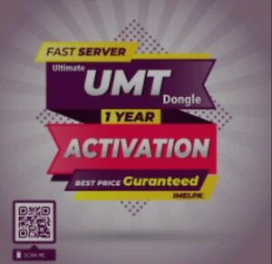 UMT BOX  DONGLE 1 Year Activation ( FAST SERVICE )