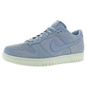Nike Mens Dunk Low Gray Skateboarding Shoes Sneakers 9 Medium (D) BHFO 1783