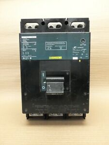 Square D LCL36400 3 Pole 400 Amp 600V Green Label Circuit Breaker