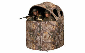 AM-AMEBL2001 Deluxe Tent Chair Blind in Realtree Edge by Ameristep