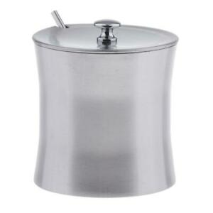 Stainless Spice Dispenser with Scoop Condiment Salt Pepper Herb Container