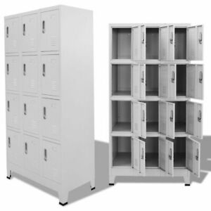 New Locker Cabinet with 12 Compartments 35.4