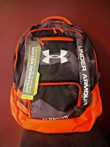 Under Armour X Storm Hustle Back Pack OrangeBlack NEW NWT