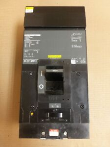 Square D LA LA36300 3 Pole 300 Amp 600v Circuit Breaker Green Label