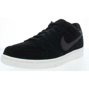 Nike Mens Dunk Low Premium Black Skateboarding Shoes 11 Medium (D) BHFO 8921