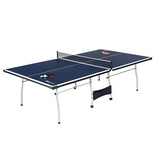 Official Size Table Tennis Ping Pong Table IndoorOutdoor With Paddle And Balls