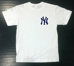 New York Yankees T Shirt Graphic NY Cotton UNIXSEX Adult Logo Jersey