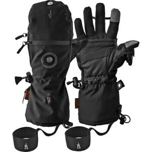 The Heat Company HEAT 3 SMART Gloves with Tactility Liners  Men's Black