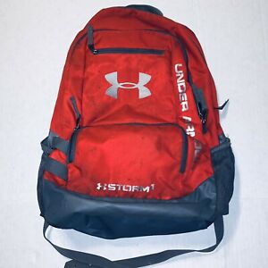 Under Armour Storm1 UA Hustle Red Backpack