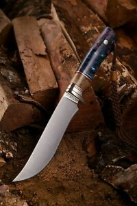handmade knife bushcraft hunting knife scandinavian edc fixed blade nitrobe 77
