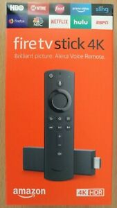 Amazon Fire TV Stick 4K & Alexa Voice Remote Streaming 2019 Version!