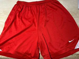 Nike Dri Fit Womens Small Red Athletic Running Shorts