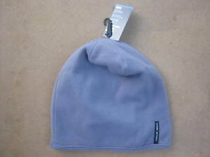 NEW GRAY UNDER ARMOUR COLD GEAR WINTER STOCKING CAP HAT BEANIE WARM POLYESTER