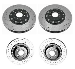 Genuine Front & Rear Carbon Ceramic Disc Brake Rotors Kit for BMW F82 M4 GTS 16