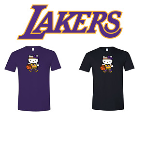 Los Angeles Lakers Hello Kitty Adult amp; Youth T Shirt $18.99
