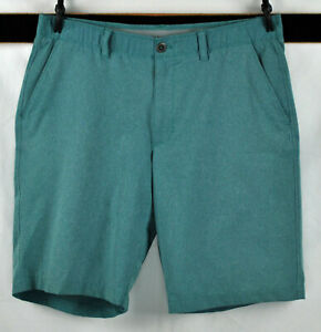 Under Armour Heat Gear Loose Fit Flat Front GolfCasual Shorts  Sz  36