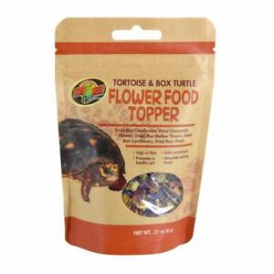 Zoo Med Flower Food Topper for Tortoise and Box Turtle 0.21 ounce