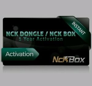 NCK BOX  DONGLE 1 YEAR ACTIVATION { OFFICIAL RESELLER } {FAST DELIVERY}